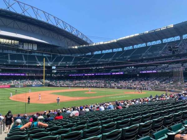 T-Mobile Park, section: 141, row: 25, seat: 18