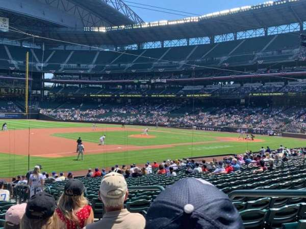 T-Mobile Park, section: 142, row: 25, seat: 3