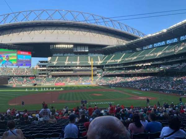 T-Mobile Park, section: 138, row: 31, seat: 5