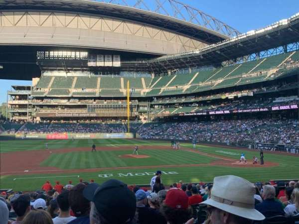 T-Mobile Park, section: 138, row: 23, seat: 3