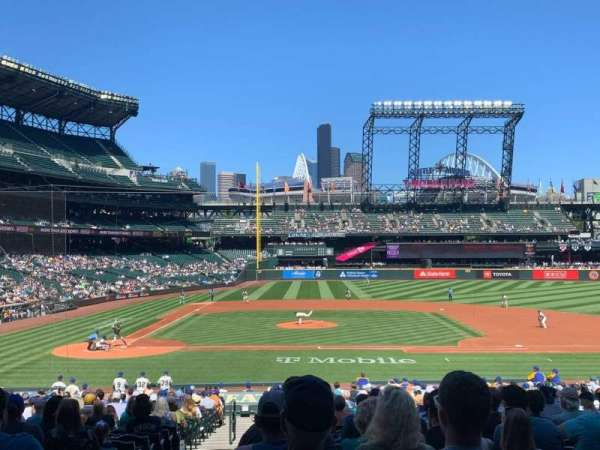 T-Mobile Park, section: 123, row: 32, seat: 12