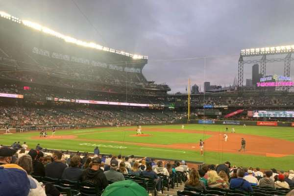 T-Mobile Park, section: 120, row: 21, seat: 10