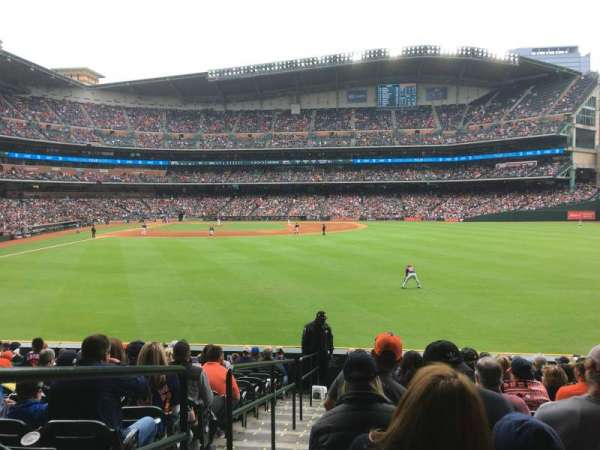 Minute Maid Park, section: 154, row: 14, seat: 1