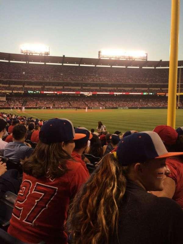 Angel Stadium, section: F133, row: J, seat: 15