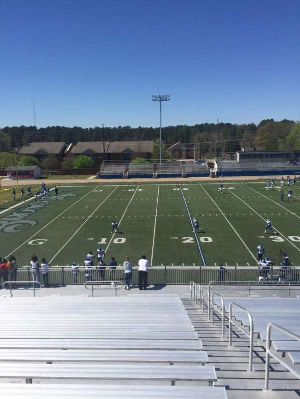Luther Nick Jeralds Stadium, section: 107, row: Z, seat: 2