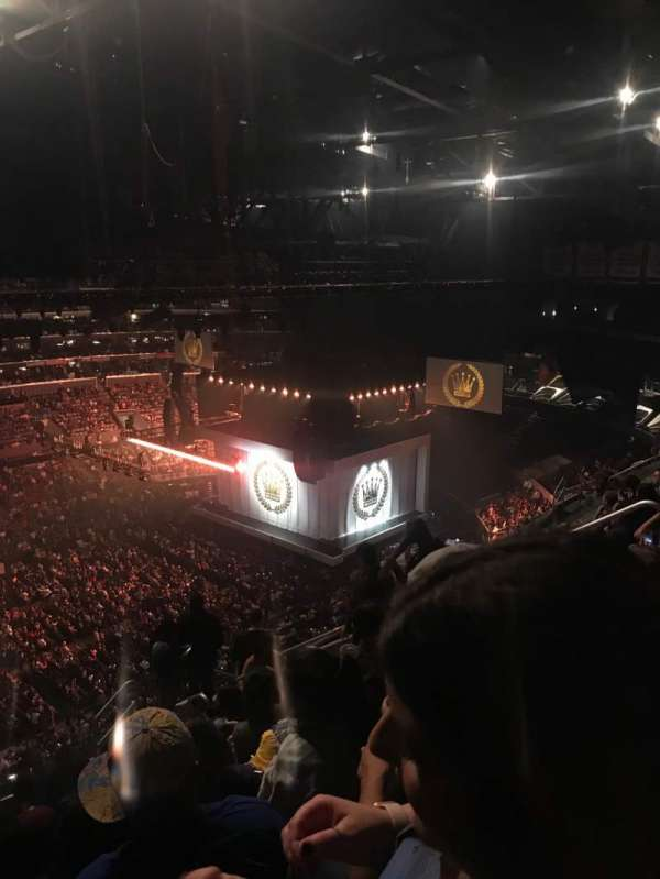 Staples Center, section: 303, row: 11, seat: 9