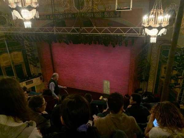 Shubert Theatre, section: Balcony R, row: F, seat: 12