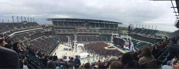 Lincoln Financial Field, section: 223, row: 16, seat: 22