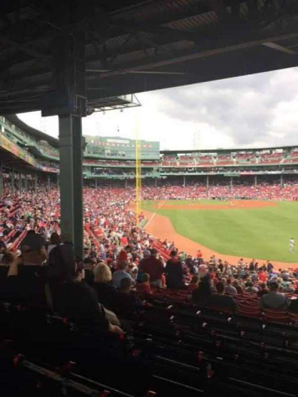 Fenway Park, section: Grandstand 3, row: 9, seat: 18