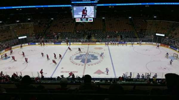 Scotiabank Arena, section: 321, row: 4, seat: 4