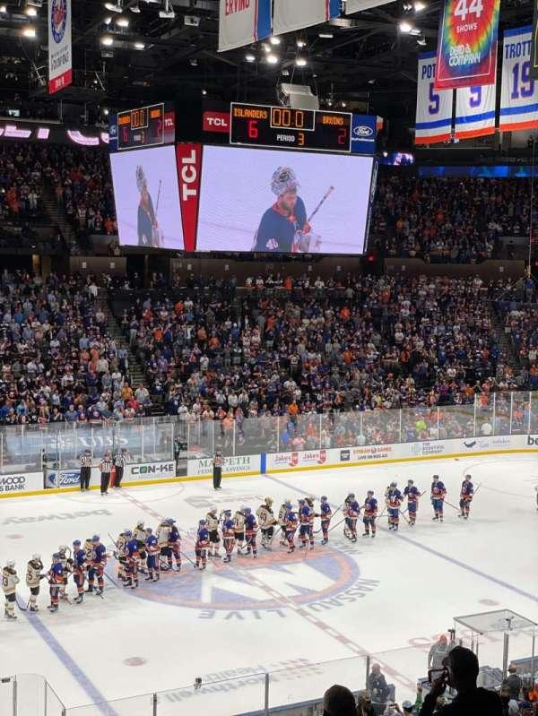 Nassau Veterans Memorial Coliseum, section: 225, row: 2, seat: 3