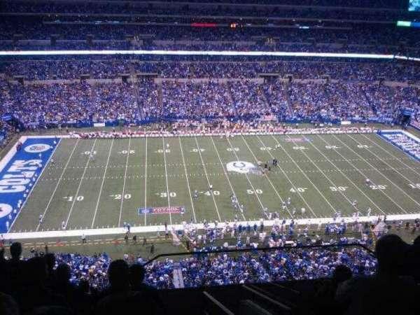 Lucas Oil Stadium, section: 642, row: 9, seat: 1