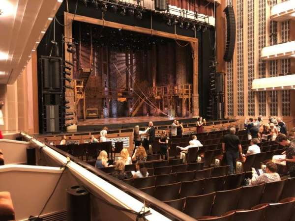 The Smith Center, section: Parterre C, row: A, seat: 3