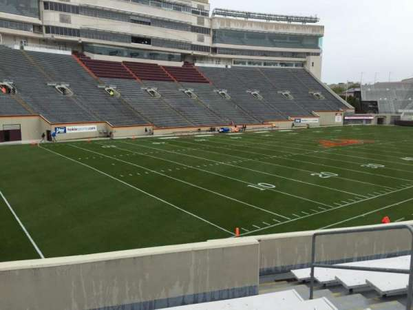 Lane Stadium, section: 19, row: X, seat: 9