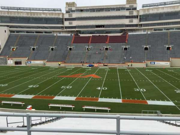 Lane Stadium, section: 9, row: GG, seat: 16
