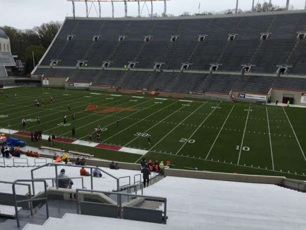 Lane Stadium, section: 16, row: XX, seat: 14
