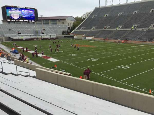 Lane Stadium, section: 20, row: X, seat: 11