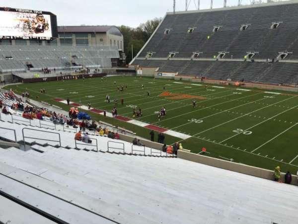 Lane Stadium, section: 18, row: RR, seat: 7