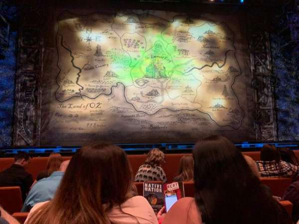 ASU Gammage, section: ORVIP, row: 4, seat: 5