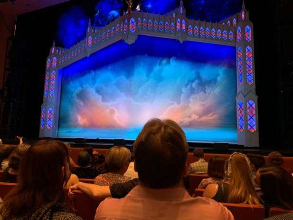 ASU Gammage, section: ORVIP2, row: 5, seat: 26