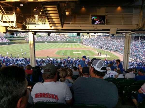 Wrigley Field, section: 215, row: 22, seat: 101