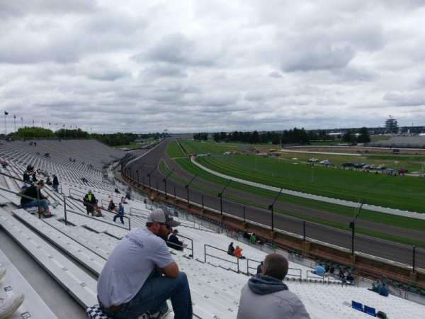 Indianapolis Motor Speedway, section: 13, row: QQ, seat: 20
