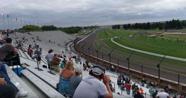 Indianapolis Motor Speedway, section: Northeast VIsta 13, row: QQ, seat: 20