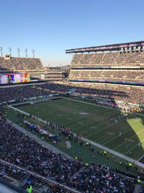 Lincoln Financial Field, section: 206, row: 1, seat: 15