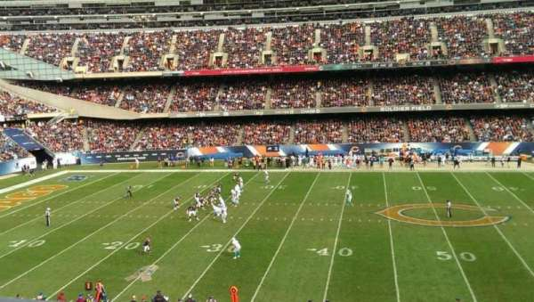 Soldier Field, section: 338, row: 1, seat: 8