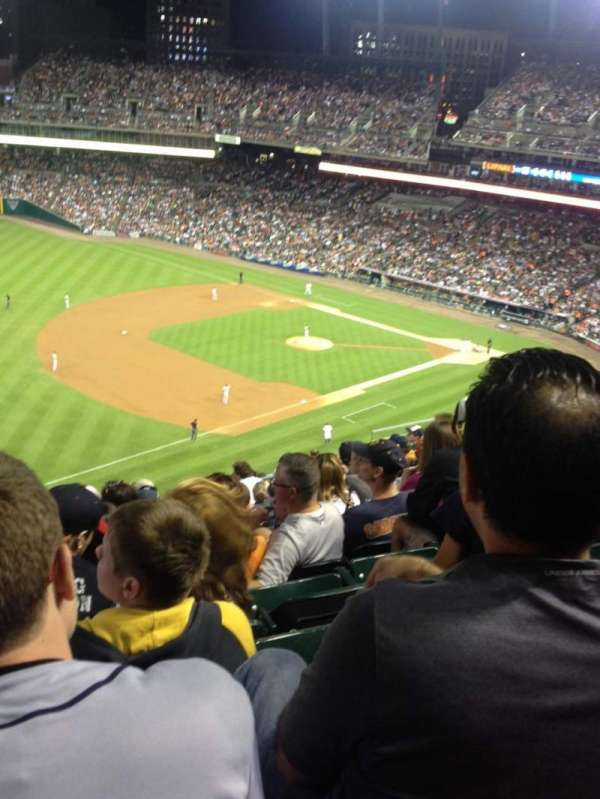 Comerica Park, section: 339, row: 12, seat: 20