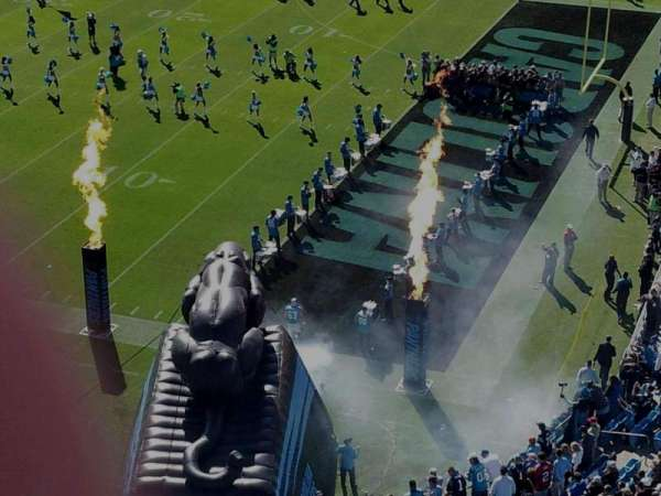 Bank of America Stadium, section: 509, row: wc, seat: 1