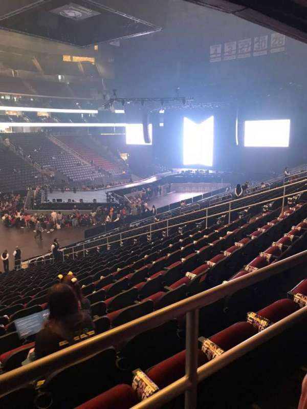 Prudential Center, section: 6, row: 21, seat: 16