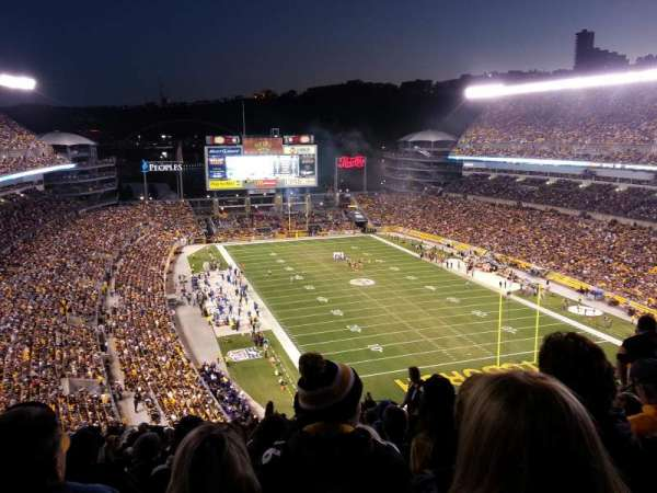 Heinz Field, section: 519, row: Q, seat: 9