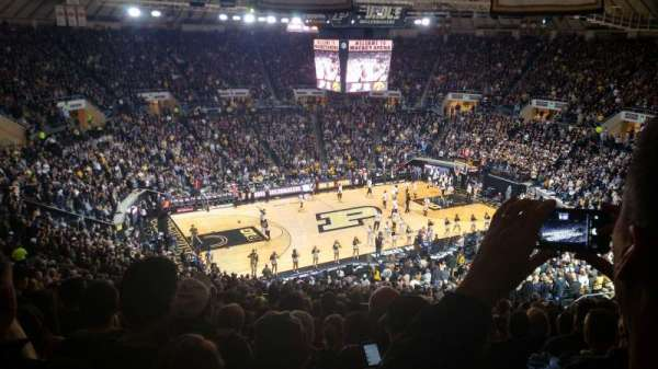Mackey Arena, section: 112, row: 24, seat: 2