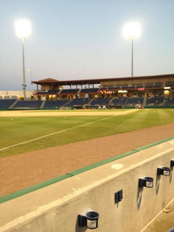 BayCare Ballpark, section: 120, row: 2, seat: 22