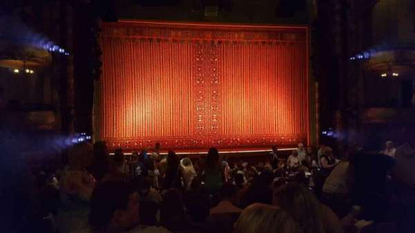 New Amsterdam Theatre, section: Orchestra C, row: T, seat: 115