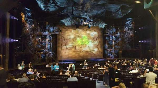 Gershwin Theatre, section: Orchestra L, row: V, seat: 13