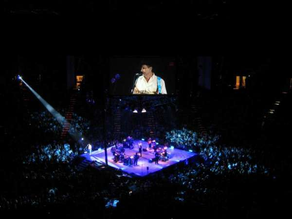 MGM Grand Garden Arena, section: 213, row: L, seat: 10
