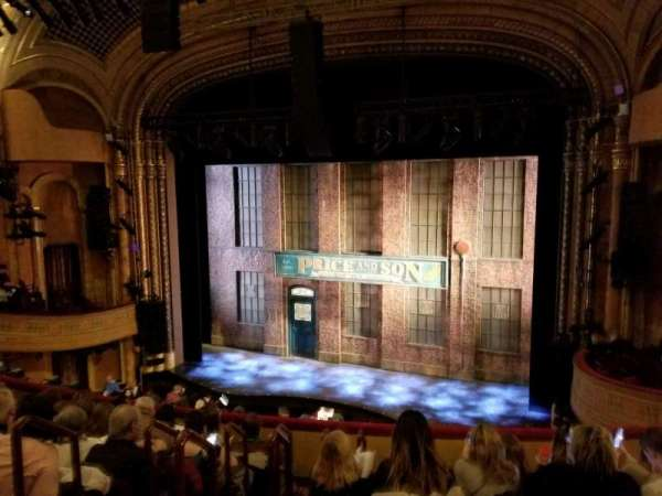 Al Hirschfeld Theatre, section: Mezzanine R, row: G, seat: 6