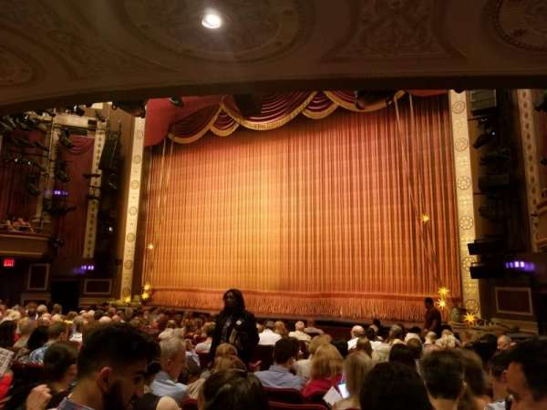 Imperial Theatre, section: Orchestra R, row: K, seat: 10