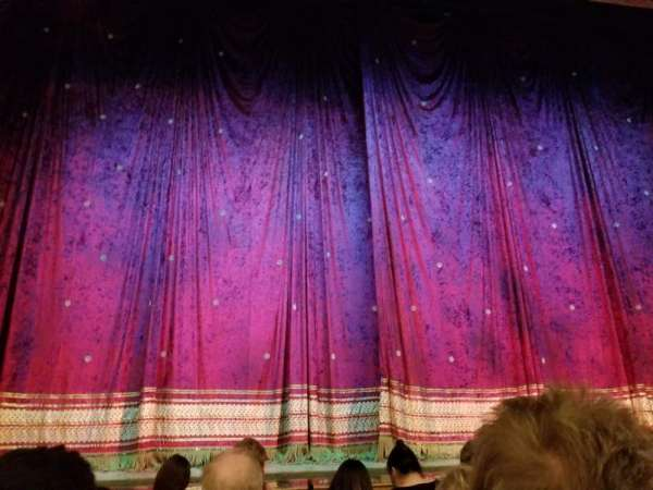 Booth Theatre, section: Orchestra C, row: C, seat: 102