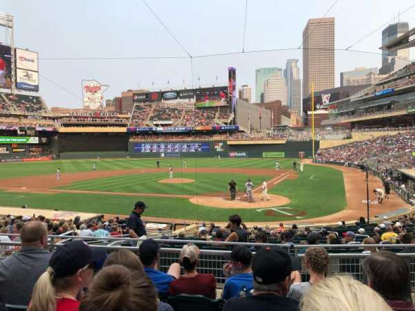 Target Field, section: 117, row: 5, seat: 1