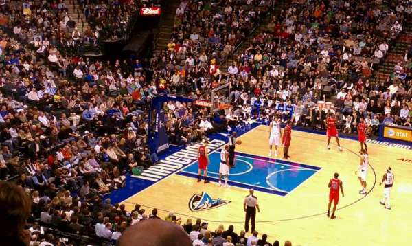 American Airlines Center, section: 209, row: d, seat: 7