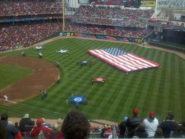 Great American Ball Park, section: 533, row: M, seat: 3