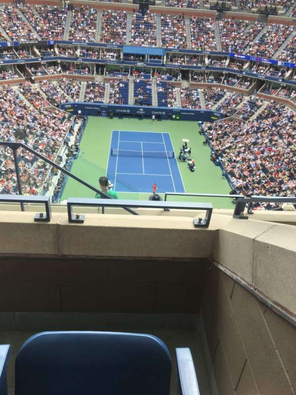 Arthur Ashe Stadium, section: 321, row: D, seat: 17