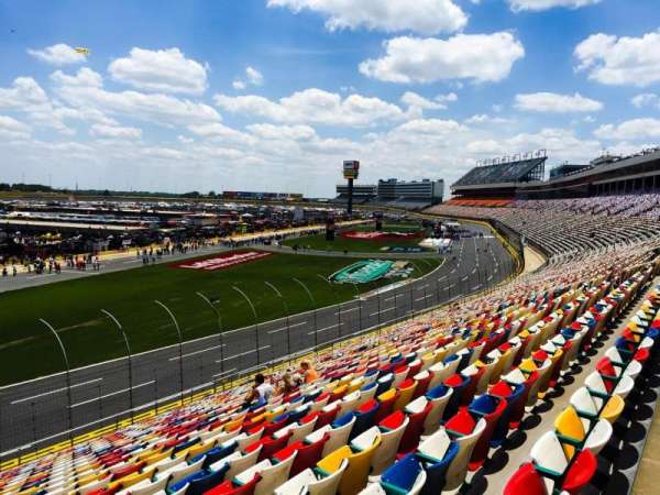Charlotte Motor Speedway, section: Chrysler E, row: 30, seat: 18