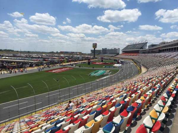 Charlotte Motor Speedway, section: CHRY Sec. E, row: 30, seat: 18