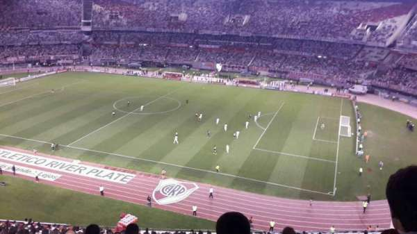 Estadio Monumental, section: Belgrano Alta, row: 18