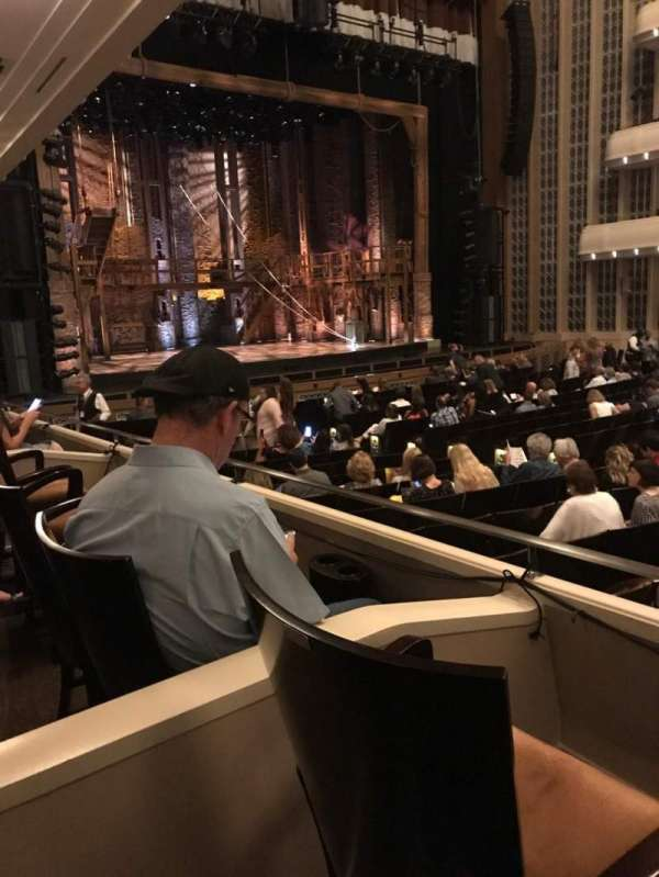 The Smith Center, section: Parterre Box D, row: B, seat: 2