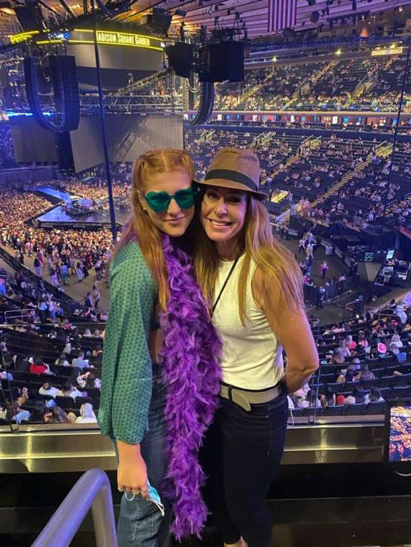 Madison Square Garden, section: 215P, row: 1st Row